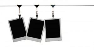 Prints hanging