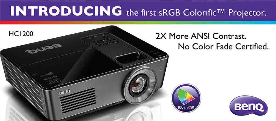 BenQ HC1200 Projector Ad