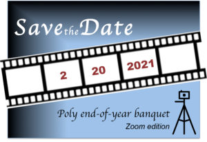 End-of-Year Banquet 2020